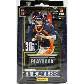2020 Panini Playbook Football Hanger Box (Purple Parallels)