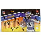 2020 Panini Phoenix Football Factory Set (Box)