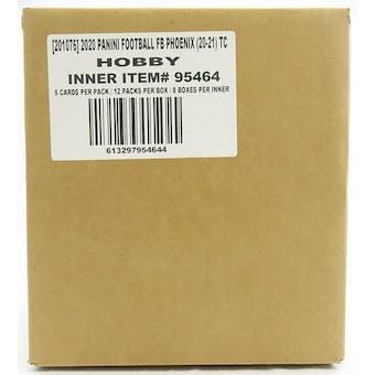 2020 Panini Phoenix Football Hobby 8-Box Case
