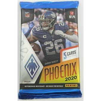 2020 Panini Phoenix Football Hobby Pack