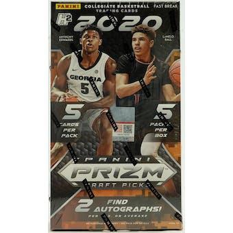 2020/21 Panini Prizm Draft Picks Fast Break Basketball Box