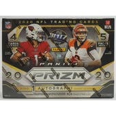 2020 Panini Prizm Football Mega Box (20 Cards) (Target)