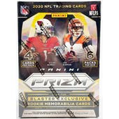 2020 Panini Prizm Football 6-Pack Blaster Box (Disco Prizms)