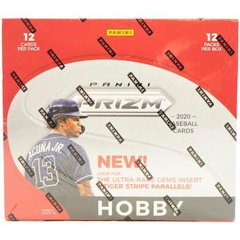 2020 Panini Prizm Baseball Hobby Box