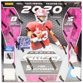 2020 Panini Prizm Draft Picks 1st Off The Line Football Hobby Box