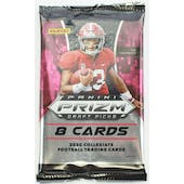 2020 Panini Prizm Draft Picks Football Hobby Pack