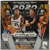 2020/21 Panini Prizm Draft Picks Basketball Hobby Box