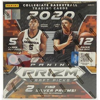 2020/21 Panini Prizm Draft Picks Basketball Mega Box (Pink Ice)
