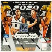 2020/21 Panini Prizm Draft Picks Basketball 1st Off The Line FOTL Hobby Box