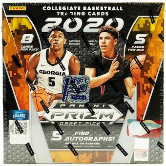 2020/21 Panini Prizm Draft Picks Basketball 1st Off The Line FOTL Hobby Box