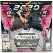 2020 Panini Prizm Draft Picks Baseball Hobby Box