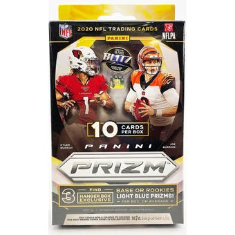 2020 Panini Prizm Football Hanger Box (10 Cards) (Target)