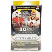 2020 Panini Prizm Football 20ct Hanger Box (Walmart)
