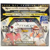 2020 Panini Prizm Football 1st Off The Line FOTL Hobby Box