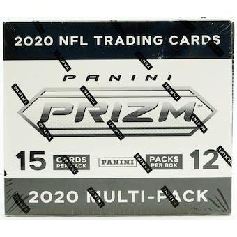 2020 Panini Prizm Football Cello/Multi Pack Box