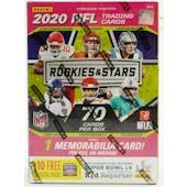 2020 Panini Rookies & Stars Football 7-Pack Blaster Box