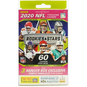 2020 Panini Rookies & Stars Football Hanger Box