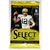 2020 Panini Select Football Hobby Pack