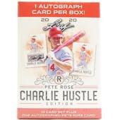 2020 Leaf Pete Rose Charlie Hustle Edition Baseball Blaster Box