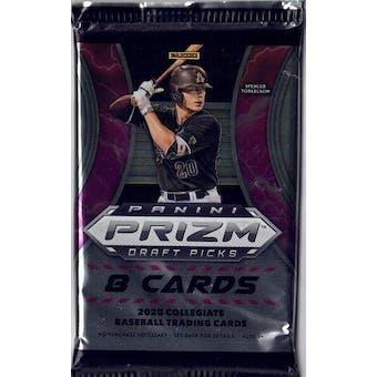 2020 Panini Prizm Draft Picks Baseball Hobby Pack