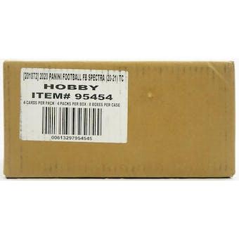 2020 Panini Spectra Football Hobby 8-Box Case
