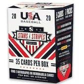2020 Panini Stars & Stripes Baseball 7-Pack Blaster Box