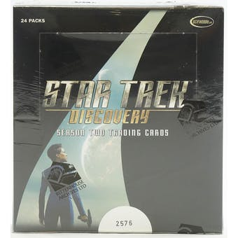 Star Trek Discovery Season Two Trading Cards Box (Rittenhouse 2020)