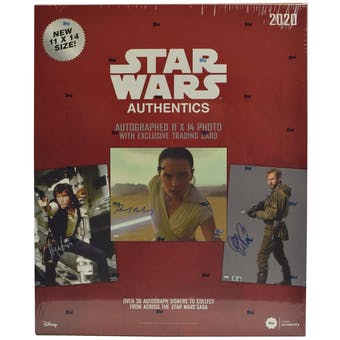 Star Wars Authentics Autographs Hobby Box (Topps 2020)