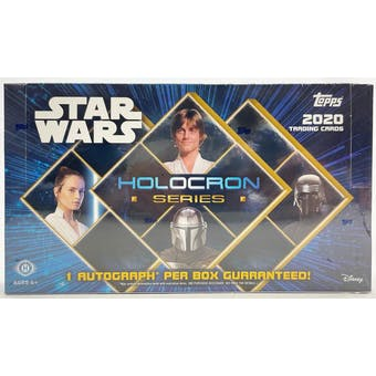 Star Wars Holocron Series Hobby Box (Topps 2020)