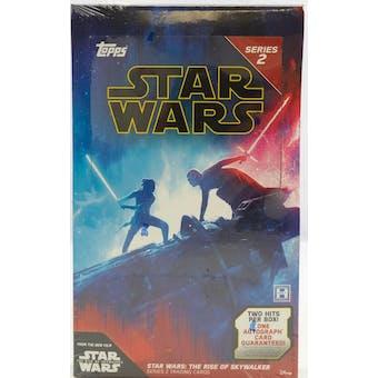 Star Wars The Rise of Skywalker Series 2 Hobby Box (Topps 2020)