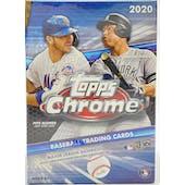 2020 Topps Chrome Baseball 8-Pack Blaster Box