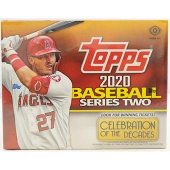 2020 Topps Series 2 Baseball Hobby Jumbo Box