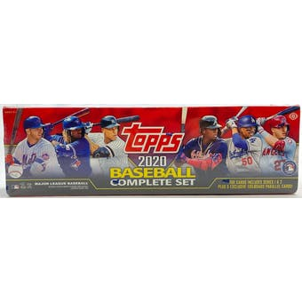 2020 Topps Factory Set Baseball Hobby (Box)