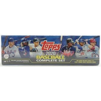 2020 Topps Factory Set Baseball (Box)