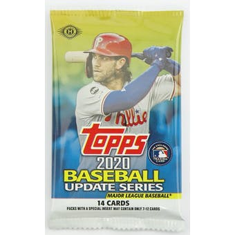 2020 Topps Update Series Baseball Hobby Pack