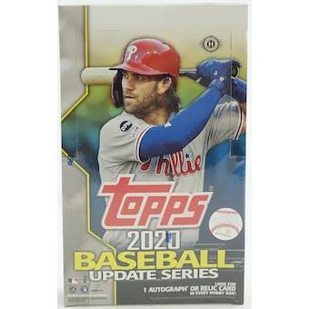 2020 Topps Update Series Baseball Hobby Box
