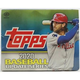 2020 Topps Update Series Baseball Hobby Jumbo Box