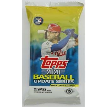 2020 Topps Update Series Baseball Hobby Jumbo Pack