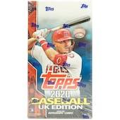 2020 Topps Baseball UK Edition Hobby Box