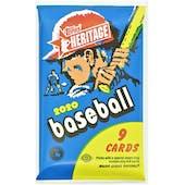 2020 Topps Heritage Baseball Hobby Pack