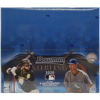 2020 Bowman Sterling Baseball Hobby Box