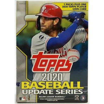 2020 Topps Update Baseball 7-Pack Blaster Box
