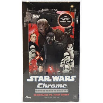 Star Wars Chrome Perspectives: Resistance vs. The First Order Hobby Box (Topps 2020)