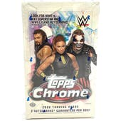 2020 Topps WWE Chrome Wrestling Hobby Box