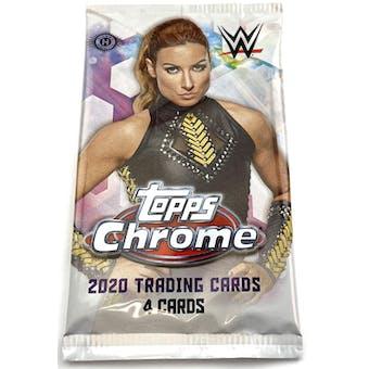 2020 Topps WWE Chrome Wrestling Hobby Pack