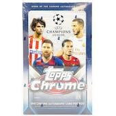 2019/20 Topps Chrome UEFA Champions League Soccer Hobby Box