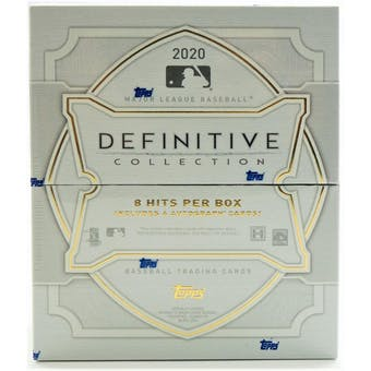 2020 Topps Definitive Collection Baseball 3-Box Case- DACW Live 24 Spot Random Hit Break #4