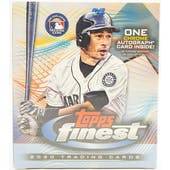 2020 Topps Finest Baseball Hobby Mini Box