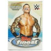 2020 Topps WWE Finest Wrestling 6-Pack Blaster Box