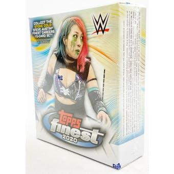 2020 Topps WWE Finest Wrestling Hobby Mini-Box